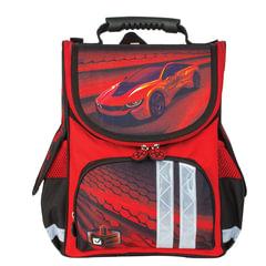 """Ранец жесткокаркасный BRAUBERG (БРАУБЕРГ), для учеников средней школы, """"Красная фурия"""", 17 литров, 34х26х16 см"""