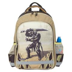 """Рюкзак ПИФАГОР для учеников начальной школы, """"Железный воин"""", 15 литров, 38х28х14 см"""