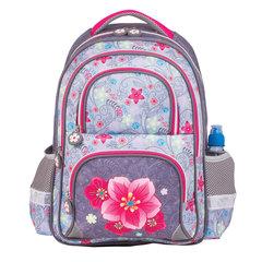 """Рюкзак BRAUBERG (БРАУБЕРГ), с EVA спинкой, для учениц начальной школы, """"Орхидея"""", 12 литров, 38х30х14 см"""