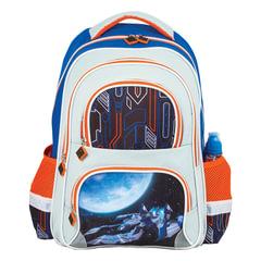 """Рюкзак BRAUBERG, с EVA спинкой, для учеников начальной школы, """"Космолет"""", 12 литров, 38х30х14 см"""