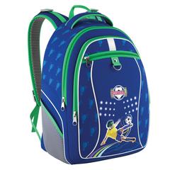 """Рюкзак ERICH KRAUSE для учеников начальной школы, """"Football"""", 18 литров, 38х28х17 см"""