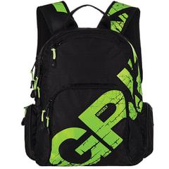 """Рюкзак GRIZZLY для старшеклассников/студентов/молодежи, """"Буквы"""", 27 литров, 30х42х22 см"""