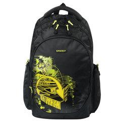 "Рюкзак GRIZZLY для старшеклассников/студентов/молодежи, ""Экстрим"", 25 литров, 28х44х23 см"
