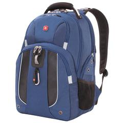 Рюкзак WENGER (Швейцария), универсальный, синий, 26 литров, 47х34х17 см