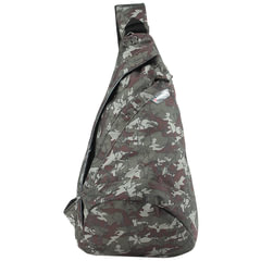 Рюкзак WENGER (Швейцария), с одним плечевым ремнем, камуфляж, 7 литров, 45х25х15 см