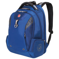 Рюкзак WENGER (Швейцария), универсальный, синий, 31 литр, 47х34х20 см
