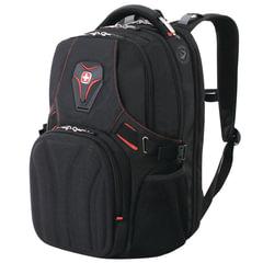 Рюкзак WENGER (Швейцария), универсальный, черный, 35 литров, 47х36х21 см