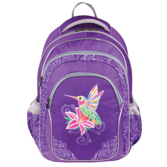 """Рюкзак ERICH KRAUSE для учениц начальной школы, """"Amazing Bird"""", 20 литров, 43х30х16 см"""