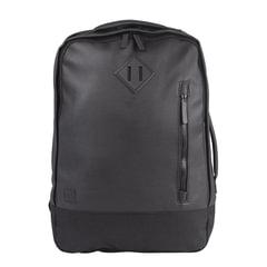 """Рюкзак BRAUBERG молодежный с отделением для ноутбука, """"Квадро"""", искуственная кожа, черный, 44х29х13 см"""