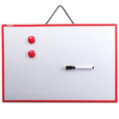 Доска магнитно-маркерная ПИФАГОР, 30х45 см, ГАРАНТИЯ 10 ЛЕТ