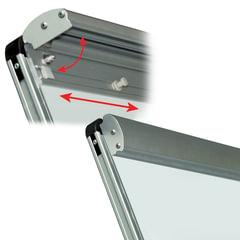 Зажим-держатель блокнота для магнитно-маркерных досок BRAUBERG, магнитный, съёмный