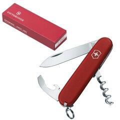 """Подарочный нож VICTORINOX """"Ecoline"""", 84 мм, складной, матовый красный, 9 функций"""