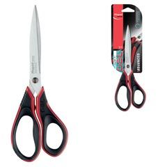 """Ножницы MAPED (Франция) """"Advanced Gel"""", 210 мм, прорезиненные ручки, черно-красные, упаковка с европодвесом"""