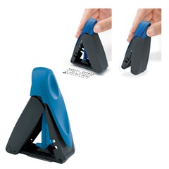 Оснастка карманная для штампа, оттиск 47х18 мм, синий, TRODAT 9412, подушка в комплекте, корпус синий