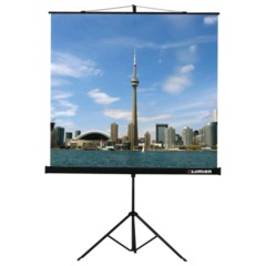 Экран проекционный LUMIEN ECO VIEW, матовый, на треноге, 200х200 см, 1:1