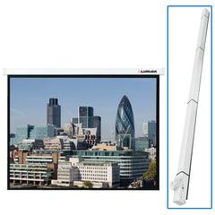 Экран проекционный LUMIEN MASTER CONTROL, матовый, настенный, электропривод, 180х180 см, 1:1