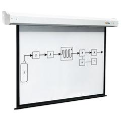 Экран проекционный DIGIS ELECTRA, матовый, настенный, электропривод, 200х200 см, 1:1