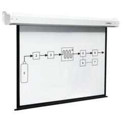 Экран проекционный DIGIS ELECTRA, матовый, настенный, электропривод, 240х240 см, 1:1