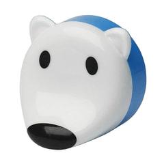 """Светильник-ночник ЭРА NN-603 """"Мишка"""", светодиодный, с сенсором света, детский, белый"""