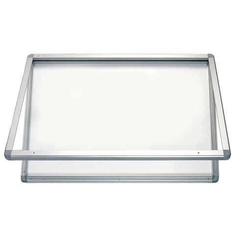 """Доска-витрина магнитно-маркерная, 60x90 см, алюминиевая рамка, OFFICE, """"2х3"""" (Польша)"""