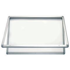 """Доска-витрина магнитно-маркерная, 90x120 см, алюминиевая рамка, OFFICE, """"2х3"""" (Польша)"""