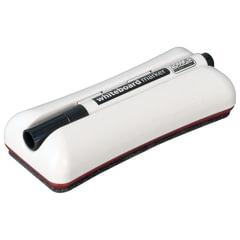 Стиратель магнитный для магнитно-маркерных досок 62х150 мм, + черный маркер, 2х3 Duo