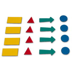 """Магниты-символы для планинга 2х3 (""""Дважды три"""", Польша), 4 листа (307 символов), ассорти"""