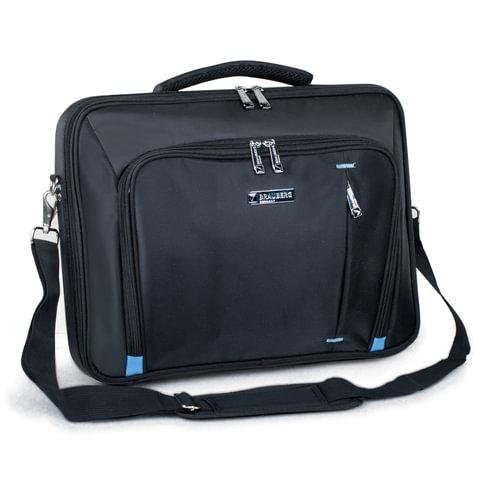 """Сумка деловая для офиса и учебы BRAUBERG """"Aero"""", отделение для планшета и ноут. 15,6"""", размер 30х40х6 см, ткань"""