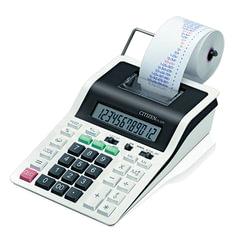 Калькулятор CITIZEN печатающий CX-32N, 12 разрядов, 226х147 мм (бумажный ролик 110364, картридж 250197)