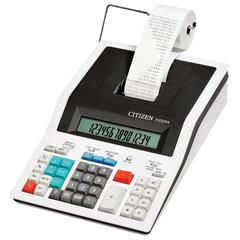 Калькулятор CITIZEN печатающий 350-DPA, 14 разрядов, 332х225 мм (бумажный ролик 110364, картридж 250220)