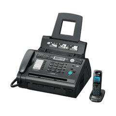 Факс лазерный PANASONIC KX-FLC418 RU, обычная бумага 80 г/м2, А4, АОН, автоответчик DECT