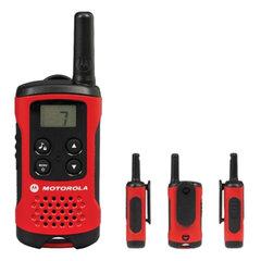Радиостанция MOTOROLA T40, до 4 км, шумоподавление, 8 каналов, комплект 2 шт.