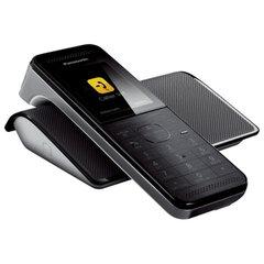 """Радиотелефон PANASONIC KX-PRW120W, слот SD, Wi-Fi, память 50 номеров, автоответчик, спикерфон, полифония, """"титан"""""""