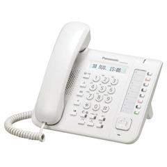 Телефон IP PANASONIC KX-NT551RU, повторный набор, часы/календарь, спикерфон, цвет белый