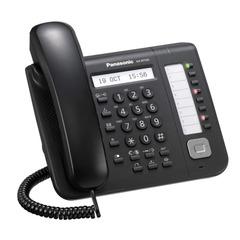 Телефон IP PANASONIC KX-NT551RU-B, повторный набор, часы/календарь, спикерфон, цвет черный