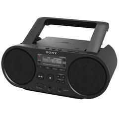 Магнитола SONY ZS-PS50B, CD, MP3, WMA, USB, AM/FM-тюнер, выходная мощность 4 Вт, черный