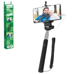 "Штатив для селфи DEFENDER ""Selfie Master SM-02"", проводной, зажим 50-90 мм, длина штатива 20-98 см"