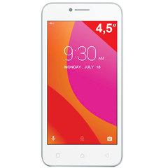 "Смартфон LENOVO VIBE B A2016A40, 2 SIM, 4,5"", 4G, 2/5 Мп, 8 ГБ, MicroSD, белый, пластик"