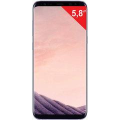 """Смартфон SAMSUNG Galaxy S8, 2 SIM, 5,8"""", 4G (LTE), 8/12 Мп, 64 ГБ, microSD, """"мистический аметист"""", металл/стекло"""