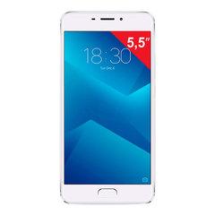 """Смартфон MEIZU M5 NOTE M621H, 2 SIM, 5,5"""", 4G, 5/13 Мп, 16 Гб, MicroSD, серебристый, металл"""