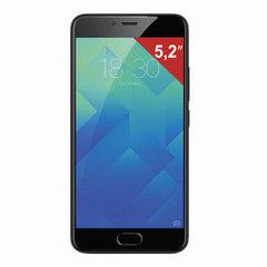 "Смартфон MEIZU M5 M611H, 2 SIM, 5,2"", 4G, 5/13 Мп, 32 Гб, MicroSD, черный, пластик"