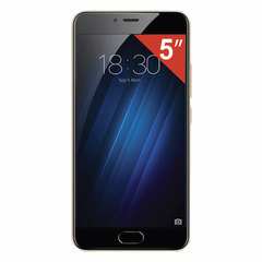 "Смартфон MEIZU M5C M710H, 2SIM, 5"", 4G, 5/13 Мп, 16 Гб, MicroSD, золотой, пластик"