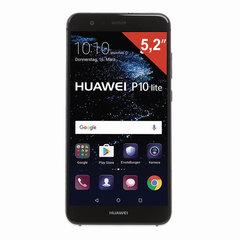 "Смартфон HUAWEI P10 LITE, 2 SIM, 5,2"", 4G, 8/12 Мп, 32 ГБ, MicroSD, черный, металл"