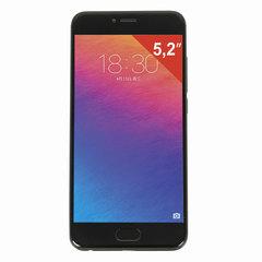 """Смартфон MEIZU PRO6 M570H, 2 SIM, 5,2"""", 4G, 5/21 Мп, 32 ГБ, черный, металл"""