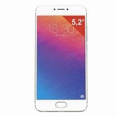 """Смартфон MEIZU PRO6 M570H, 2 SIM, 5,2"""", 4G, 5/21 Мп, 32 ГБ, серебристый/белый, металл"""