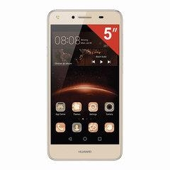 "Смартфон HUAWEI Y5 II CUN-U29, 2 SIM, 5"", 3G, 2/8 Мп, 8 Гб, MicroSD, золотой, пластик"