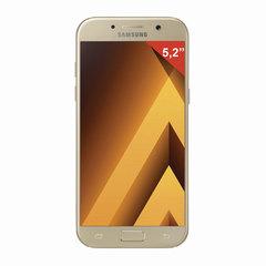 "Смартфон SAMSUNG Galaxy A5, 2 SIM, 5,2"", 4G (LTE), 16/16 Мп, 32 ГБ, microSD, золотой, сталь и стекло"