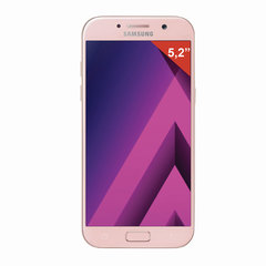 "Смартфон SAMSUNG Galaxy A5, 2 SIM, 5,2"", 4G (LTE), 16/16 Мп, 32 ГБ, microSD, розовый, сталь и стекло"