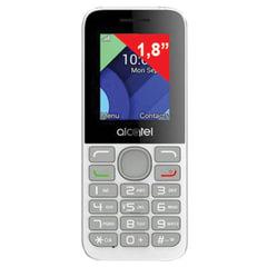 "Телефон мобильный ALCATEL One Touch 1054D, 2 SIM, 1,8"", MicroSD, белый"