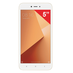 "Смартфон XIAOMI Redmi 5A, 2 SIM, 5"", 4G, 5/13 Мп, 16 Гб, MicroSD, золотой, пластик"